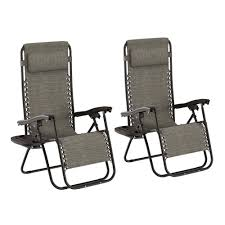 Lavish Home Gray Folding Zero Gravity Steel Outdoor Lounge Chairs (2-Pack) Patio Fniture Accsories Zero Gravity Outdoor Folding Xtremepowerus Adjustable Recling Chair Pool Lounge Chairs W Cup Holder Set Of Pair Navy The 6 Best Levu Orbital Chairgray Recliner 4ever Heavy Duty Beach Wcanopy Sunshade Accessory Caravan Sports Infinity Grey X Details About 2 Yard Gray Top 10 Reviews Find Yours 20