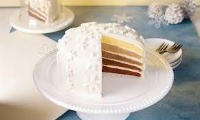 weihnachtliche ombré torte