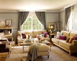 Living Room Decorating In Vintage Style