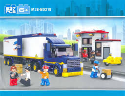 Jual Blok Lego Sluban - City Scene Heavy Truck And Rest Station (M38 ... Lego Technic 2in1 Mack Truck Hicsumption Moc Tanker Itructions Youtube Lego City 3180 Tank Speed Build Main Transport Remake Legocom Fire Station 60110 Ugniagesi 60016 The Next Modular Building Revealed Brickset Set Guide And Road Repair Juniors Toys Stop Motion Rescue Brick Expands Its Brickbuilt Lineup With New 2500piece Duplo My First Cars Trucks 10816 Ireland