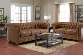 Thomasville Leather Sofa Recliner by Sofa Living Room Furniture Milky Brown Tufted Chesterfield Sofa