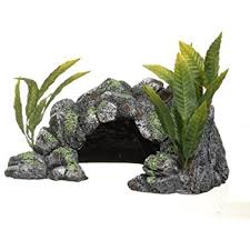 amazon com marina decor polyresin cave large aquarium decor