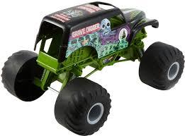 Hot Wheels Monster Jam Giant Grave Digger Truck DNL95 - Best Buy