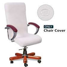 WOMACO Waterproof Office Chair Cover, Jacquard Computer Office Chair Covers  Water-Repellent Universal Boss Chair Covers Modern Simplism Style High ... Engineer High Back Office Chair By Zuo At Royal Fniture Parsons Ding Chairs On Sale Iago Directors Home And Bryson Desk In Savile Flannel White Decoration Large Size Long Cover King Einnehmend Black Leather Bar Stool Table Sports Covers Best Images About Antiques Queen How Fun Are These Slipcovers From Pier 1 Slipcovers Junk Chic Cottage Updo A Sneak Peek The New Enterprise Espresso For Elderly With Plus