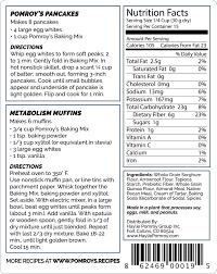 Whole Grain Sorghum Flour Arrowroot Tapioca Prebiotic Fiber Quinoa Almond Meal Pecan Cream Of Tartar Baking Soda
