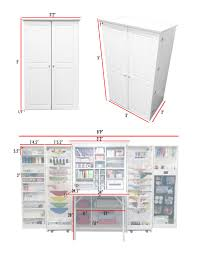 Broyhill Fontana Armoire Dimensions by The Workbox 3 0 Vs Her Hobbybox Craft Organizations And Room