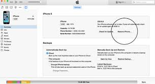 How to Reset iPhone 5 drne