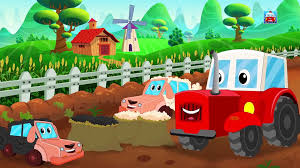 100 Fire Truck Song Ralph And Rocky S Happy Sweety Car Video For