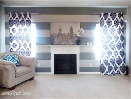 Awkward Living Room Layout With Fireplace by Jessica Stout Design Kitchen Living Room Makeover Reveal