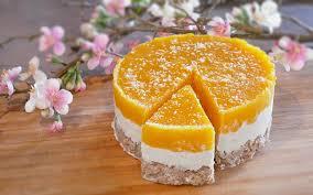 kokos mango kuchen vegan mit nur 10 zutaten intueat
