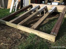shed ramp how to build a sturdy garden shed ramp