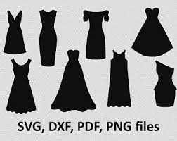Dress SVG Dress DXF Dress Clipart Dress Files printing Dress cutting