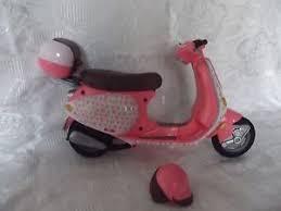 Image Is Loading 2002 Mattel My Scene Pink Vespa Motor Scooter