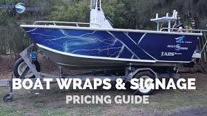 Boat Wrapping Price Guide - How Much Does It Cost?