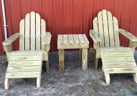 Squirrel Feeder Adirondack Chair by Outdoor Wooden Furniture The Cement Barn Manufacturers Of