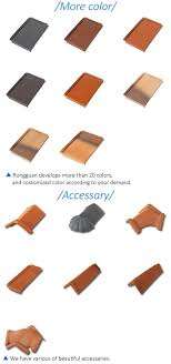 roof tiles dimensions santa home decor clay colour china