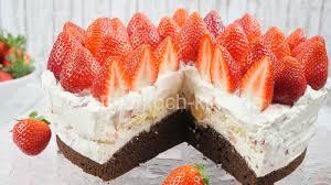 rezept erdbeer tiramisu torte i erdbeer mascarpone torte i erdbeertorte zum muttertag