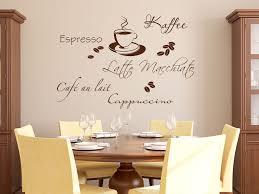 wandtattoo kaffee style