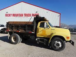 100 1995 Ford Truck L8000 Single Axle Dump Cummins 59 170HP 6 Spd