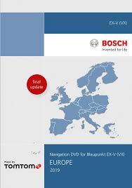 dvd rom europe blaupunkt tp ex v vx 2019 tomtom i1031163