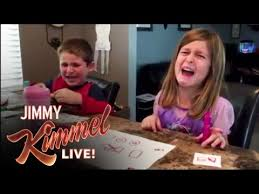 Jimmy Fallon I Ate Your Halloween Candy by Watch Jimmy Kimmel U0027s Annual Halloween Candy Youtube Challenge The