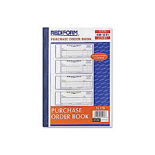 Print Rediform 2 Part Purchase Order Book