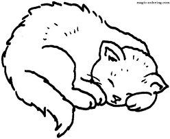 55 Best Cat Coloring Pages Images On Pinterest