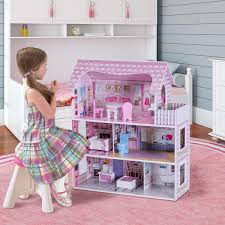 Amazoncom Barbie Forever Barbie Totally Real House Playset Toys