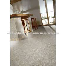 China Indoor Outdoor Sand Stone Look Tile Porcelain Floor Tiles White Color Rough Finished 300x300mm