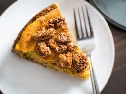 Pumpkin Pie With Gingersnap Crust Gluten Free by Pumpkin Serious Eats
