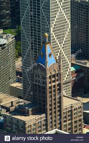 Aerial View of Former American Furniture Mart Building and Playboy