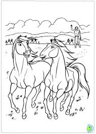 Spirit The Horse Coloring Pages Getcoloringpages With Stallion Of Cimarron Pertaining To