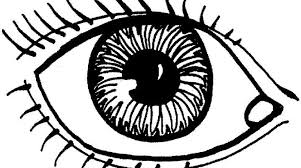 Pair Eyes Coloring Pages Hicoloringpages