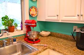 Red And Turquoise Kitchen Decor Design Ideas
