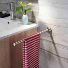 zunto handtuchhalter 40cm stange wand bad handtuchstange