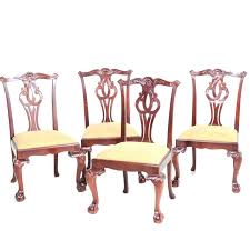 Chippendale Dining Chairs Baker Furniture Chair Set Room For Sale