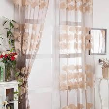 balock schuhe tüll gardine 1stück schnitt blumen vorhang floral transparenter tüll vorhang moderne glatte bloße fenster vorhänge voile tüll