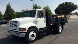 100 International 4700 Dump Truck 1998 13 Flatbed YouTube