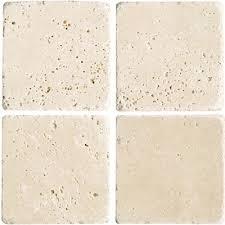 florida tile pietra travertine 4 x 4 light