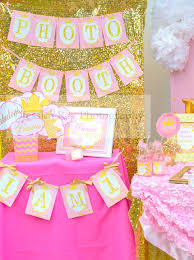Pink And Gold Birthday Themes by Princess Birthday Sparkle Sign She Leaves Sparkles U2013 Krown