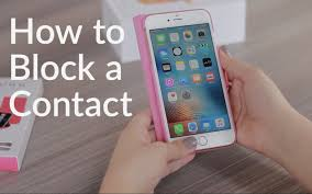 How To Block Contacts iPhone