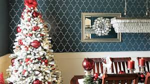 How To Decorate A Flocked Christmas Tree By The King Of Day 5 12 Days