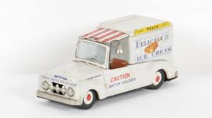 100 Toy Ice Cream Truck Delicious Tin M432 The Auction 2014