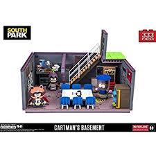 McFarlane South Park Cartmans Basement With Cartman Kenny And Token Exclusive Construction Set