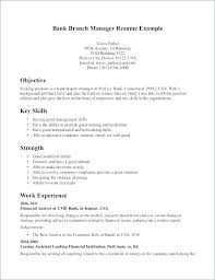 Objective On Resume Examples Best Objectives Banker Samples For