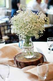 Flowers Hydrangea Wedding Table Mason Jar Centerpieces U Babies Breath Floral Centerpiece In Fallwithspicturemlux Party