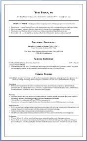 Nursing Internship Resume Nurse Examples Inspirational Lovely Rn Bsn