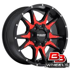 100 Black And Red Truck Rims Raceline Cobra Wheels For Your Or SUV New For 2015 BB