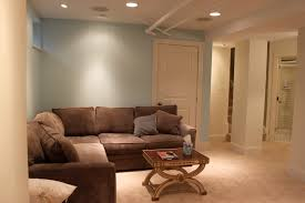 Home Decorating With Brown Couches by Small Basement Ideas Set In Your Home Traba Homes