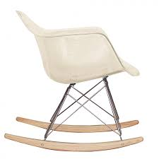 100 Eames Style Rocking Chair Charles Ray RAR Ghost Smoke Bentwood